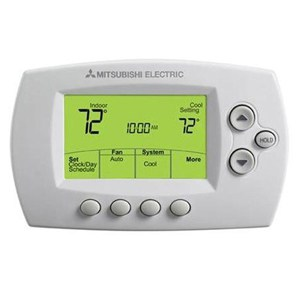 Mitsubishi ductless mini split Wall-Mounted Controls