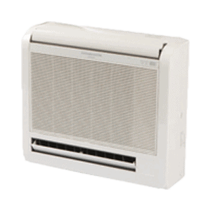 Mitsubishi ductless mini split Floor-Mount